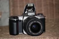 Nikon N65 (FILM!! Camera body, lens and carrying case! ORIGINAL MANUAL INCLUDED!)