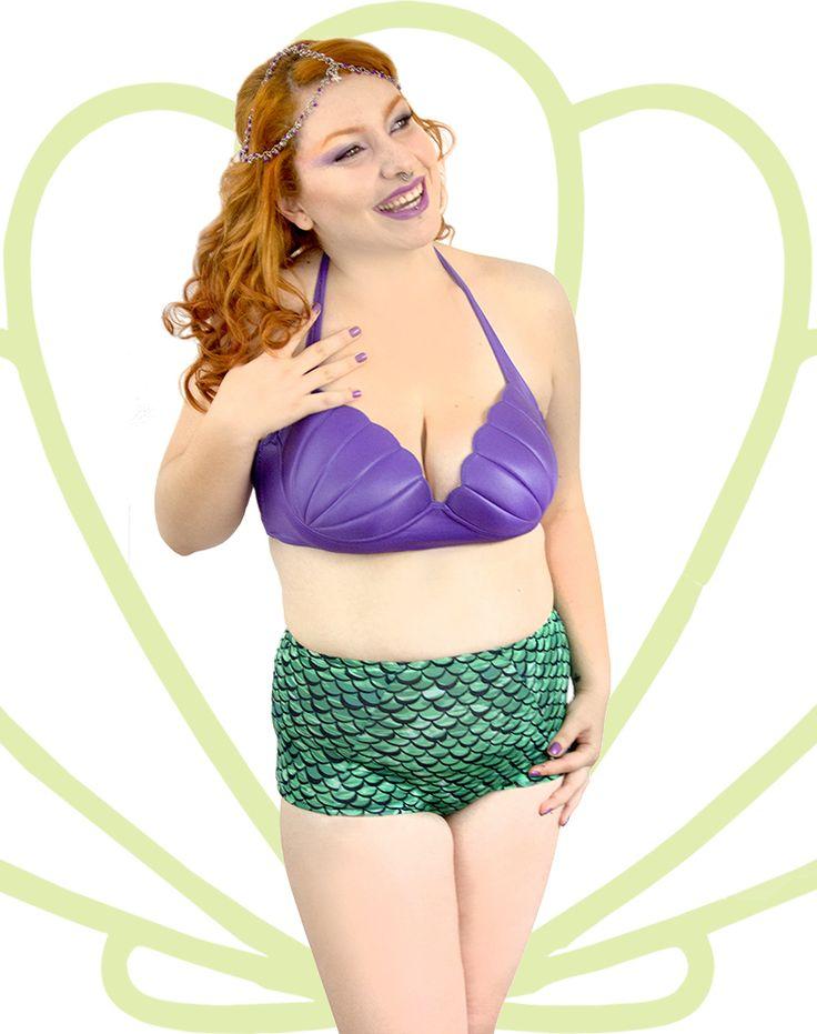 Top Alça que Amarra no Pescoço na cor Lilás  Ariel com a Hot Pants na Linha do Umbigo. Encomendas Site ou Facebook Virall Retrô