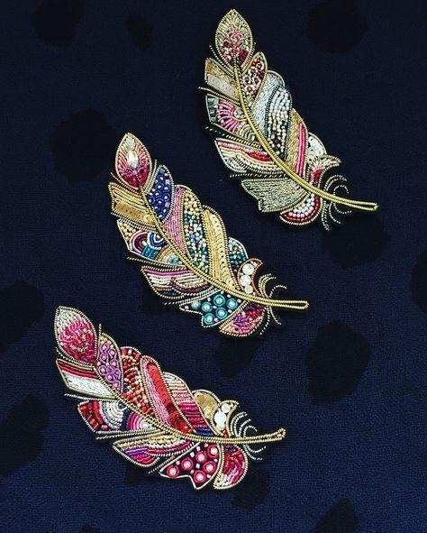 Новые перья готовы и совсем скоро разлетятся !!! А для заказа таких же пишите пожалуйста в Директ или WhatsApp ❗️#handmade_ru_jewellery
