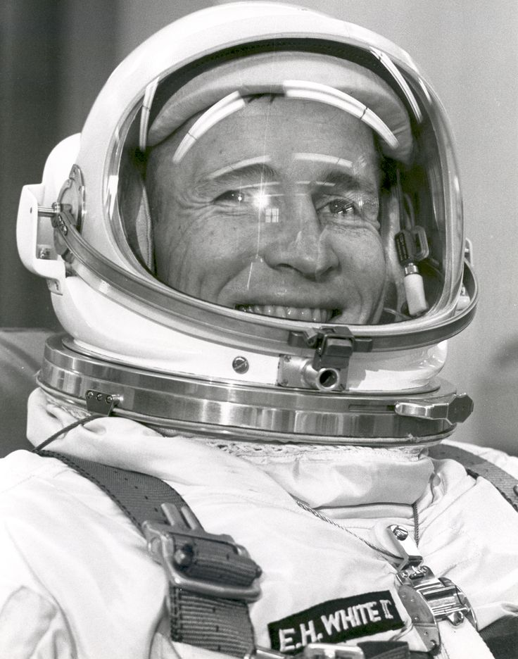 Gemini 4 pilot, Ed White.                                                                                                                                                                                 More