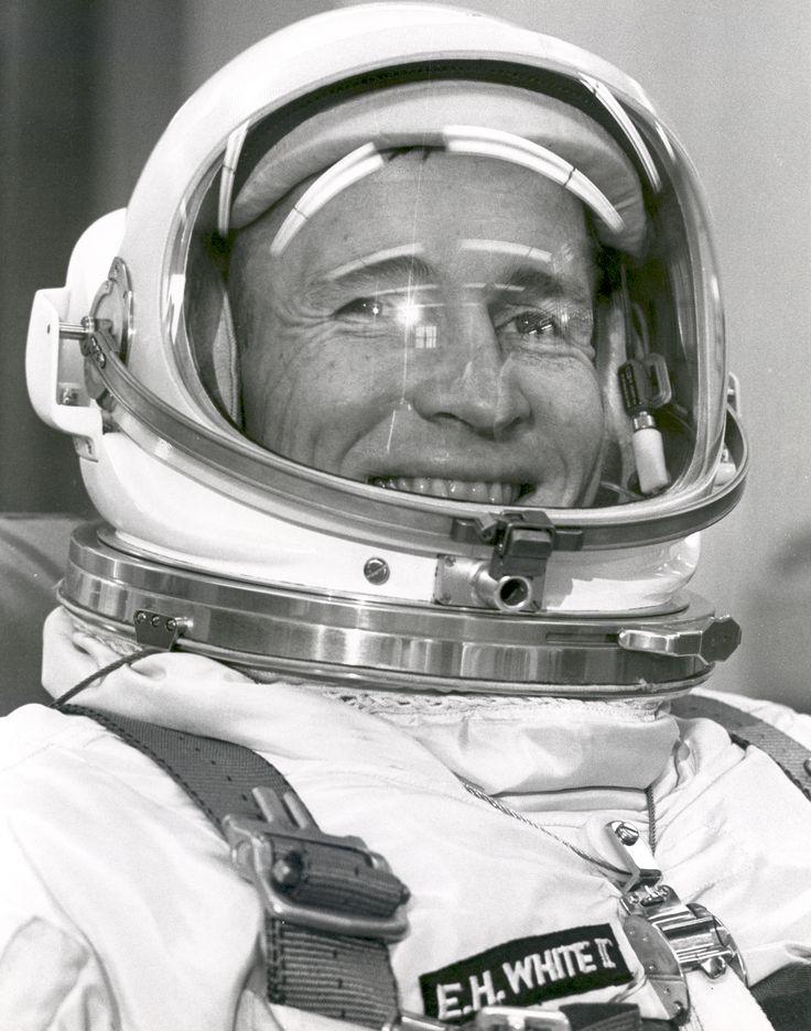 Gemini 4 pilot, Ed White.                                                                                                                                                                                 More