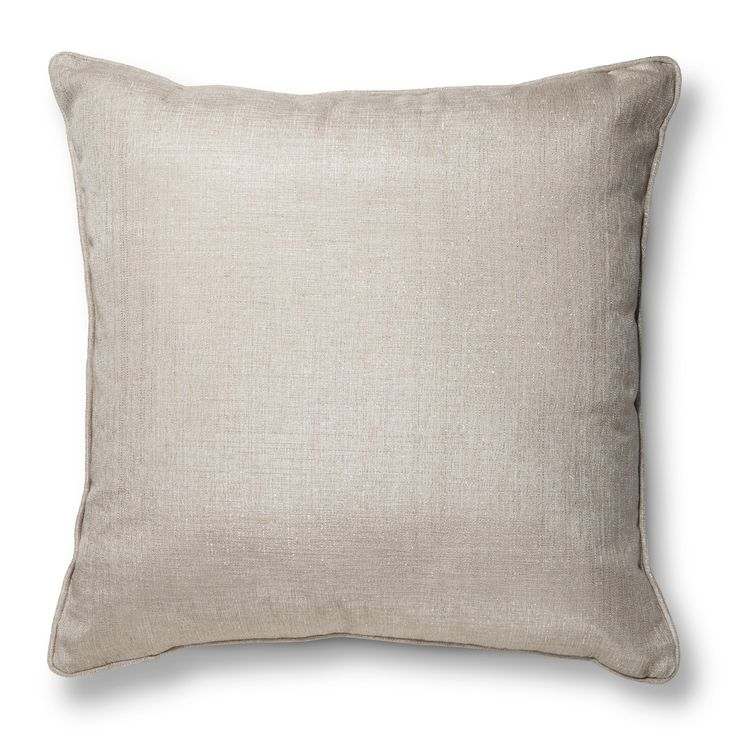 """Update your space with the Threshold™ Oversized Metallic Throw Pillow. We love the versatility of this elegant pillow that's sure to look great in any room of your home. Modern, minimalist, traditional, understated – this gorgeous pillow does it all. In a textured weave with subtle metallic threads. Toss it on a bed, sofa or family room floor for a soft touch wherever you need it. Spot clean. 24"""" x 24""""."""