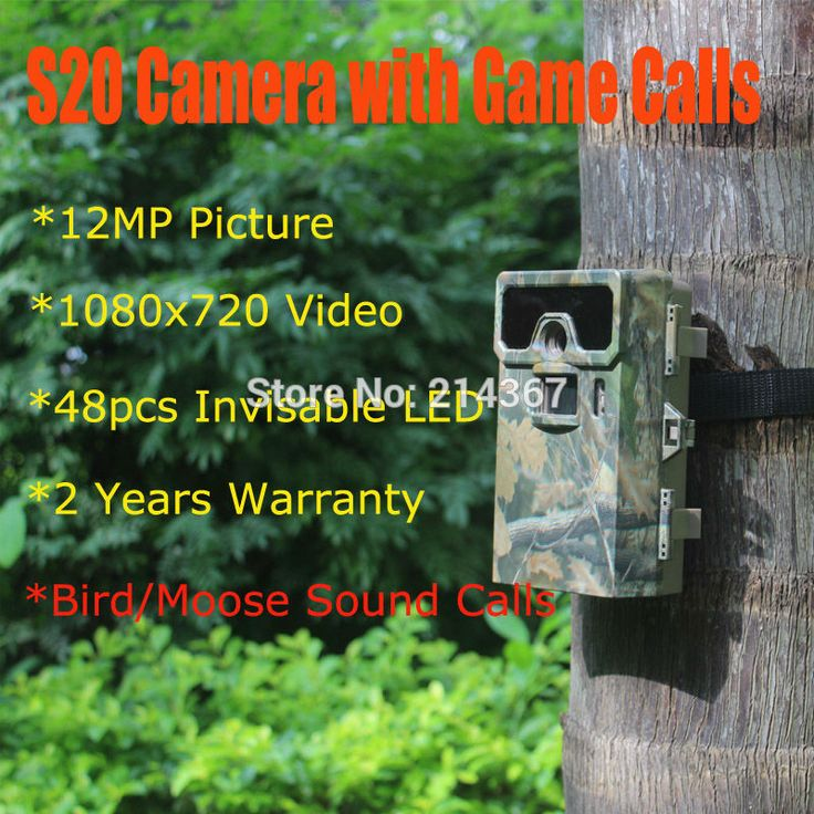 S20 Hunting Game Calls Scouting Cameras with Bird Sound Call Hunting Camera as Hunter Game Callers Free Ship