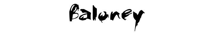 Faça o download da fonte Baloney e mude a aparência de seus textos. Inove e deixe seus textos personalizados, com aspecto criativo, animado ou profissional.