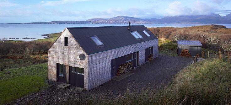DIY: Modern self build house kits from Hebridean Contemporary Hom