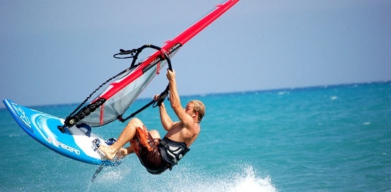 Windsurf sul Lago di Garda!