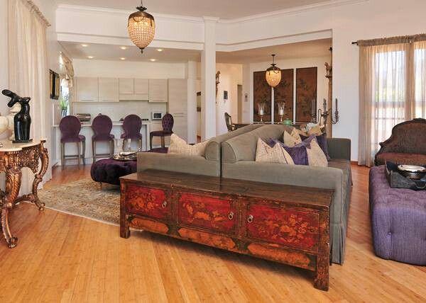 Beautiful horizontal bamboo flooring fitted throughout 900sqm upmarket apartments in Franshoek