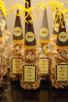 Bee Day Party Favors