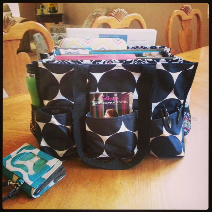 home office items. thirtyone organizing utility tote perfect for transferring work items from your home office to place of business