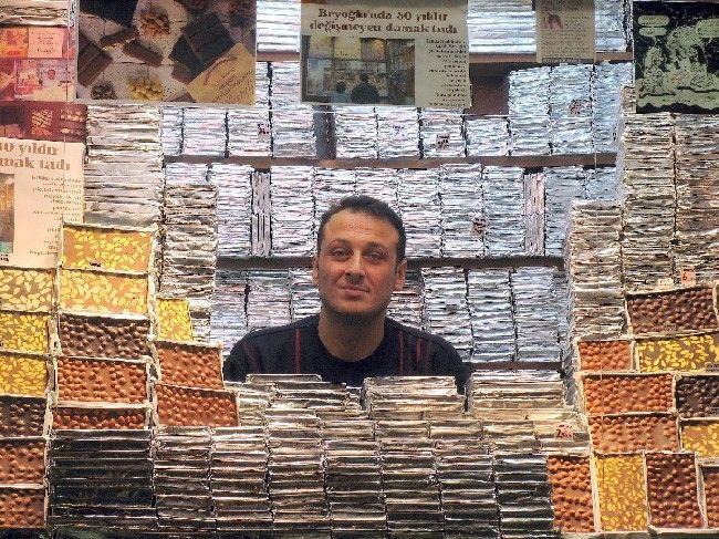 Chocolate Shop - Beyoglu, Istanbul