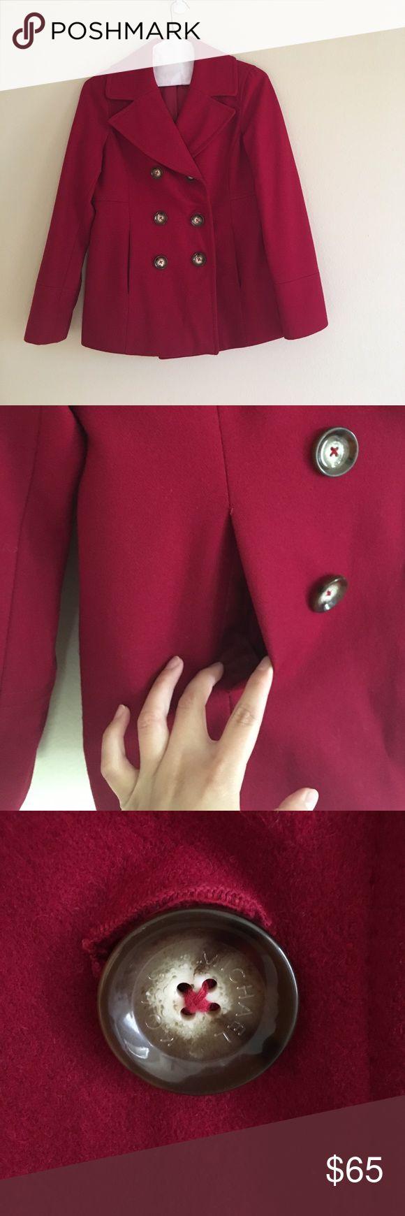 Michael Kors Pea Coat No flaws. Just dry cleaned as well! Michael Kors Jackets & Coats Pea Coats