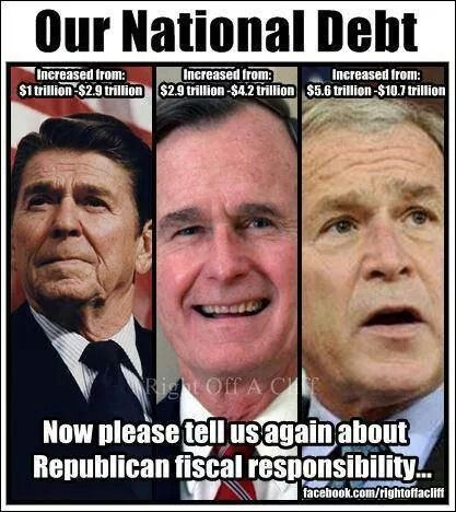 "FISCAL CONSERVATIVES  ""HELL."""