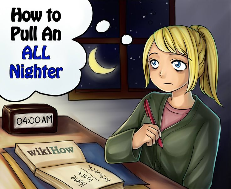 How to Pull An ALL NIGHTER! Steps and tricks on staying up. This may be useful later...