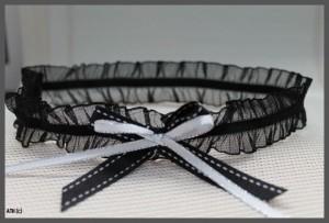 Sexy Thin Black Lace Garter
