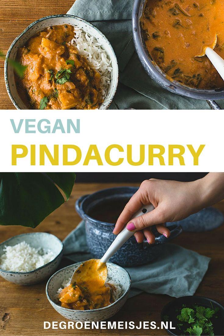 Pindakaas is my best friend!  Daarom deel ik graag dit recept van de vegan pindacurry met jullie. Ga jij 'm ook maken?