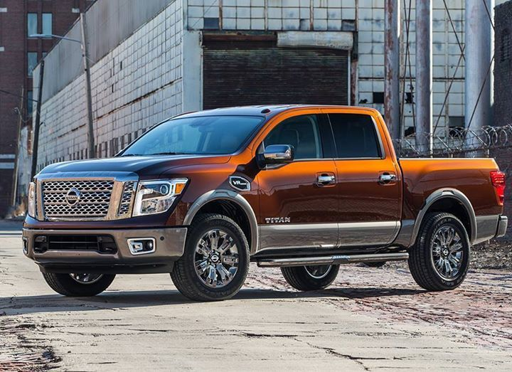 The newest addition to the #Nissan #Trucks family just made its debut at the New York International Auto Show! The 2017 Nissan #TITAN half-ton arrives at dealers this summer, with a 5.6-liter V8 gas engine. #AgincourtNissan #Toronto #Nissan #Premier #Car #Dealership #Exceptional #Service #HopeOnWheels