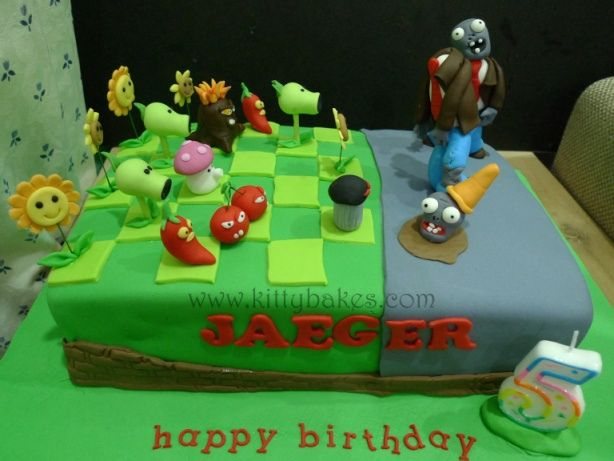 plants vs zombies cake ideas | Recent Photos The Commons Getty Collection Galleries World Map App ...