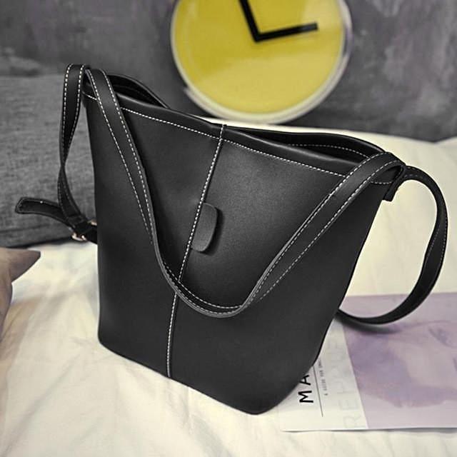 Xiniu bags Women Fashion 2pcs Leather Satchel Satchel Hobo Bag Women  Messenger Bag Women Small Clutch