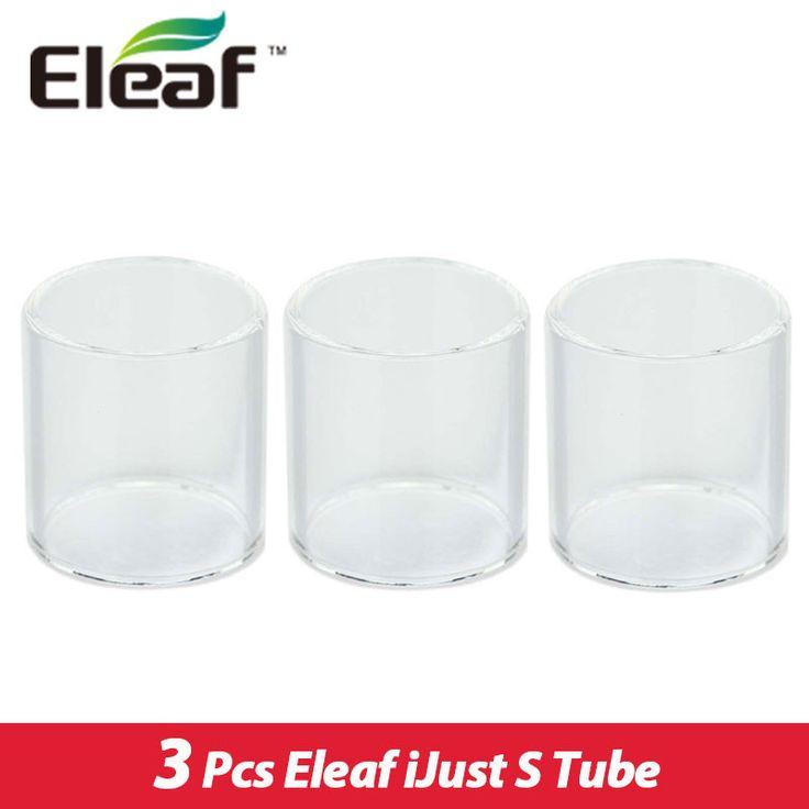 Original Eleaf ijust S Atomizer Tubes Pyrex Glass Tube 3pieces/lot