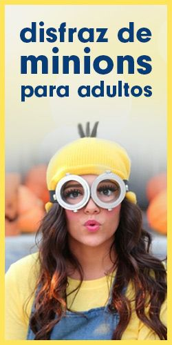Disfraz fácil de Minion para adultos! #Halloween