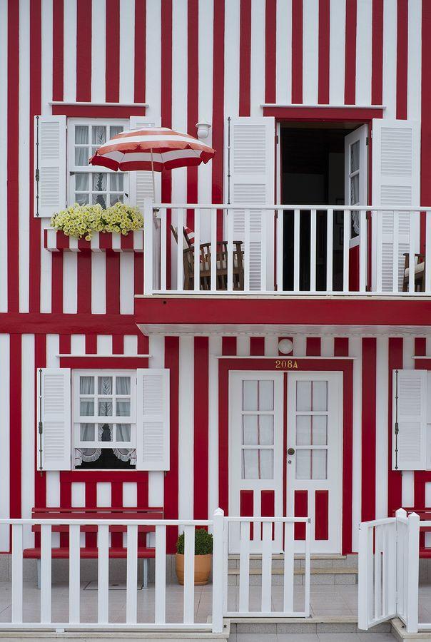 Costa Nova beach houses, Aveiro - Portugal
