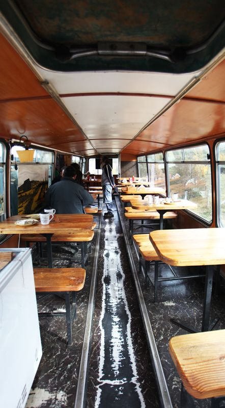 bus restaurant