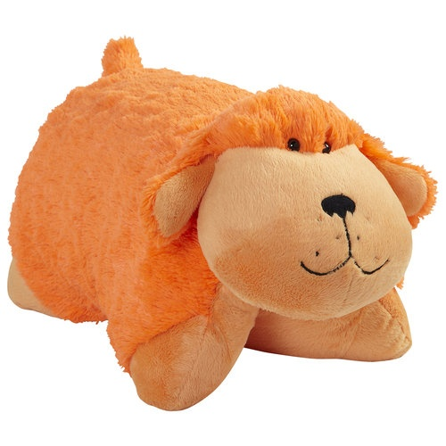 Orange Pillow Pet   Dog