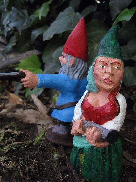 Gnome In Garden: 24 Best Images About Zombies On Pinterest