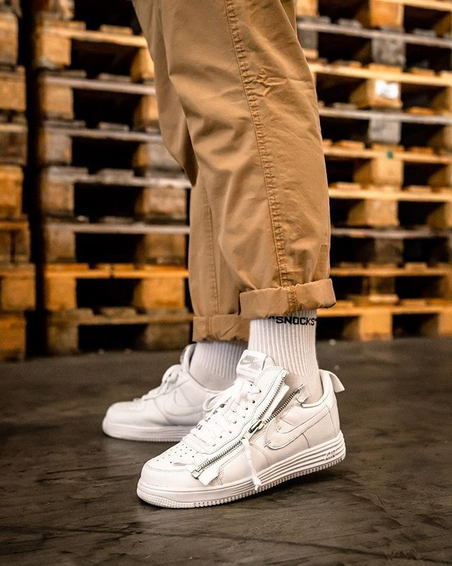 Acronym X Nike Air Force 1 Sneakers White Sneakers Mens Outfits