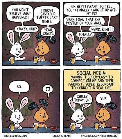 На самом деле скучные люди из интернета общаются не так