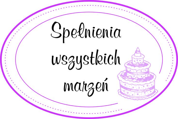 Etykietka urodzinowa co cardmakingu!