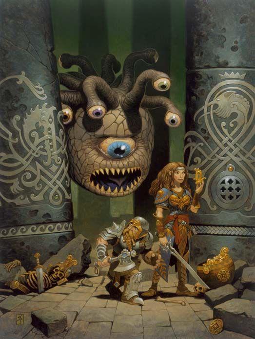25 best Beholders for D&D images on Pinterest   Fantasy ...
