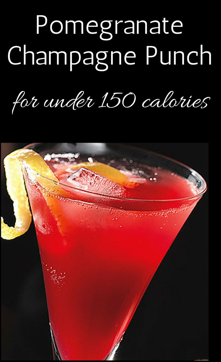 Pomegranate Champagne Punch and other drink recipes for under 150 ...