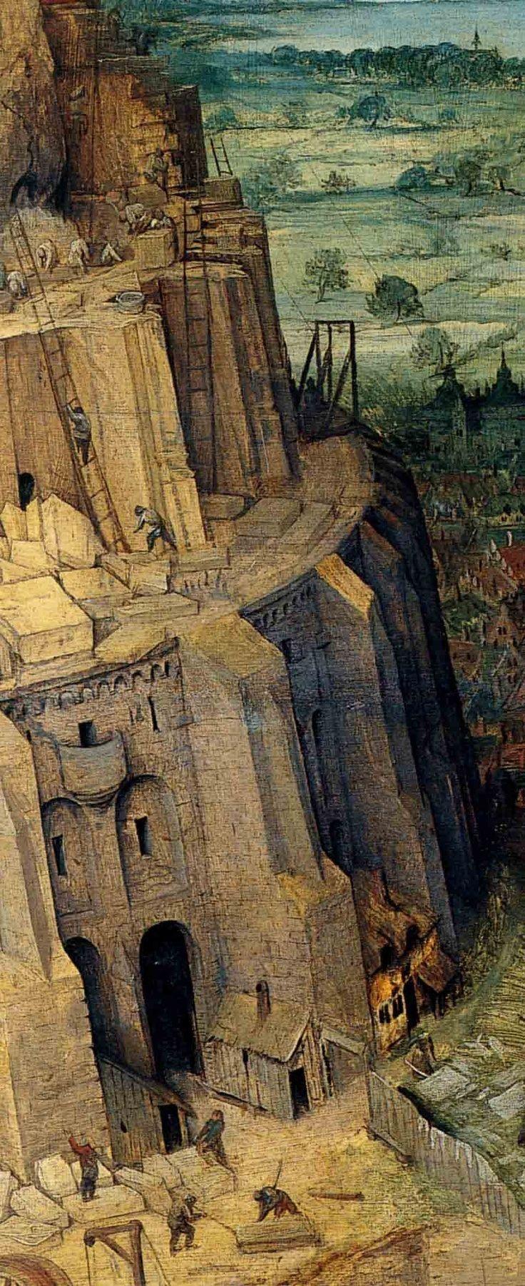Tour de babel | Tour de babel, Art biblique, Paysage fantastique