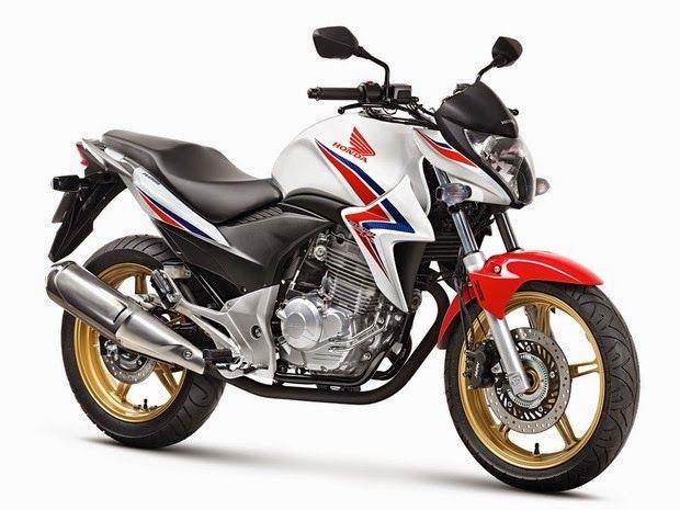 R2 MOTOS: Honda CB 300R ganha rodas douradas na linha 2015