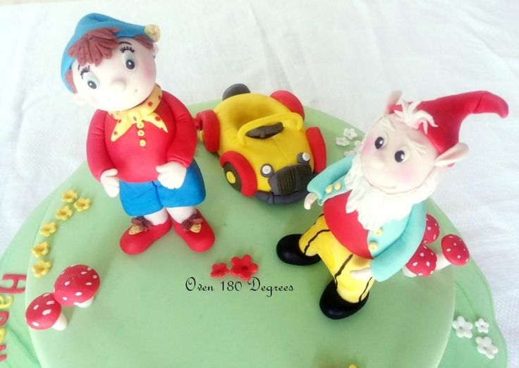 Noddy Birthday Cake Toppers