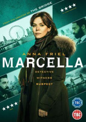 Anna Friel nella locandina di Marcella  #Marcella