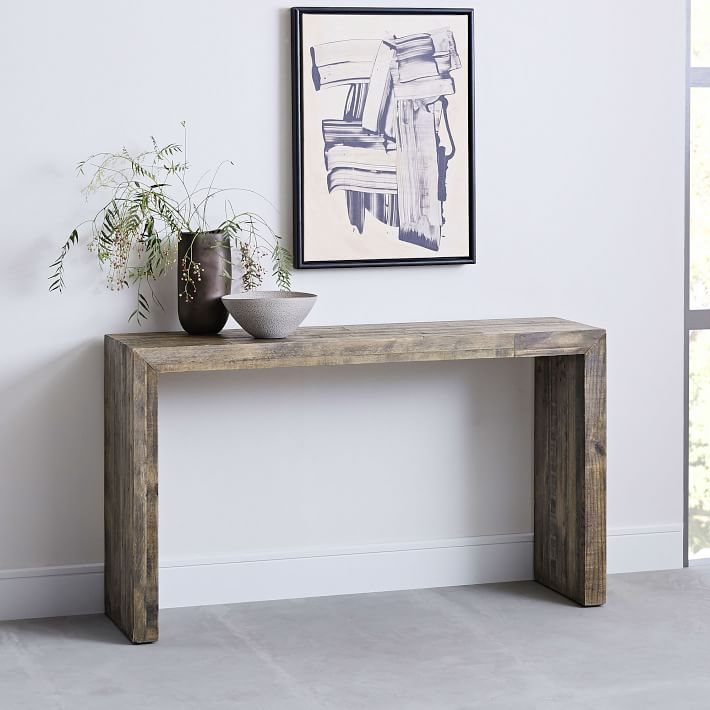 Emmerson Reclaimed Wood Console Natural In 2020 Decor Home