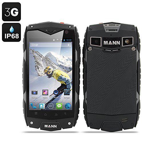 MANN ZUG 3 Smartphone Android 4.3 Tri-Proof DUAL SIM 3G IP68 Impermeabile Antiurto Antipolvere CPU QUAD CORE (COLORE GIALLO)