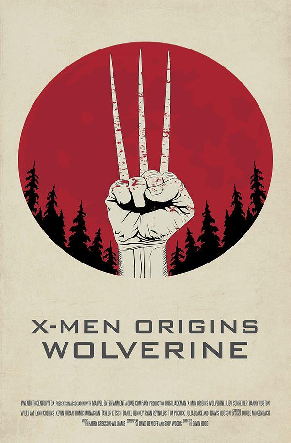 X-Men Origins Wolverine Movie Poster Redesign on Behance