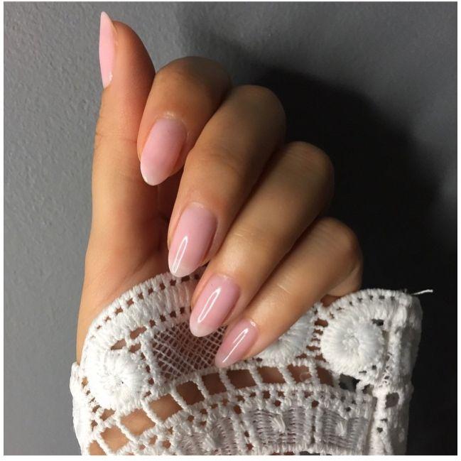 OPI bubble bath nail polish.