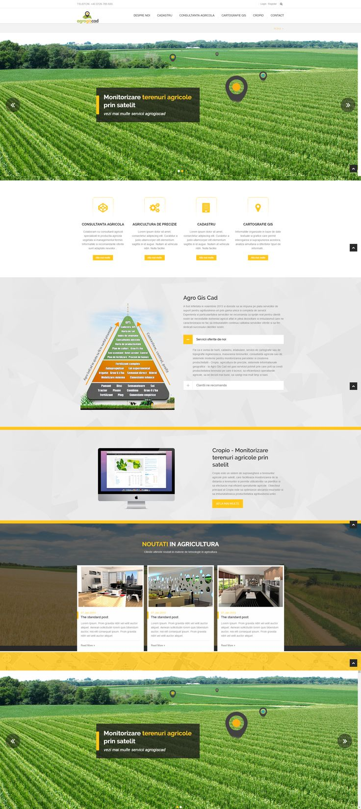 Website design - Agriculture
