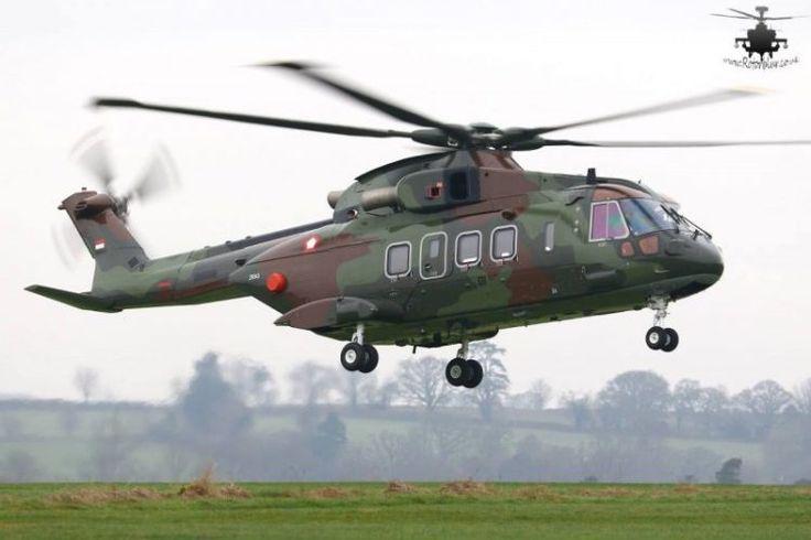 TNI AU Beli Helikopter AgustaWestland 101 – JakartaGreater