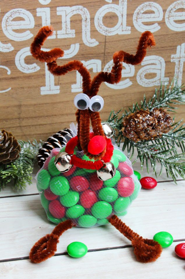 Cute Reindeer Christmas Craft