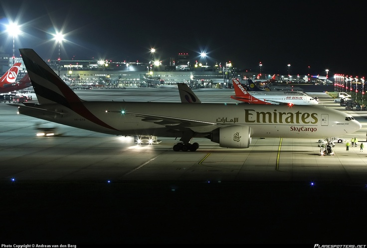 A6-EFD Emirates Boeing 777-F1H