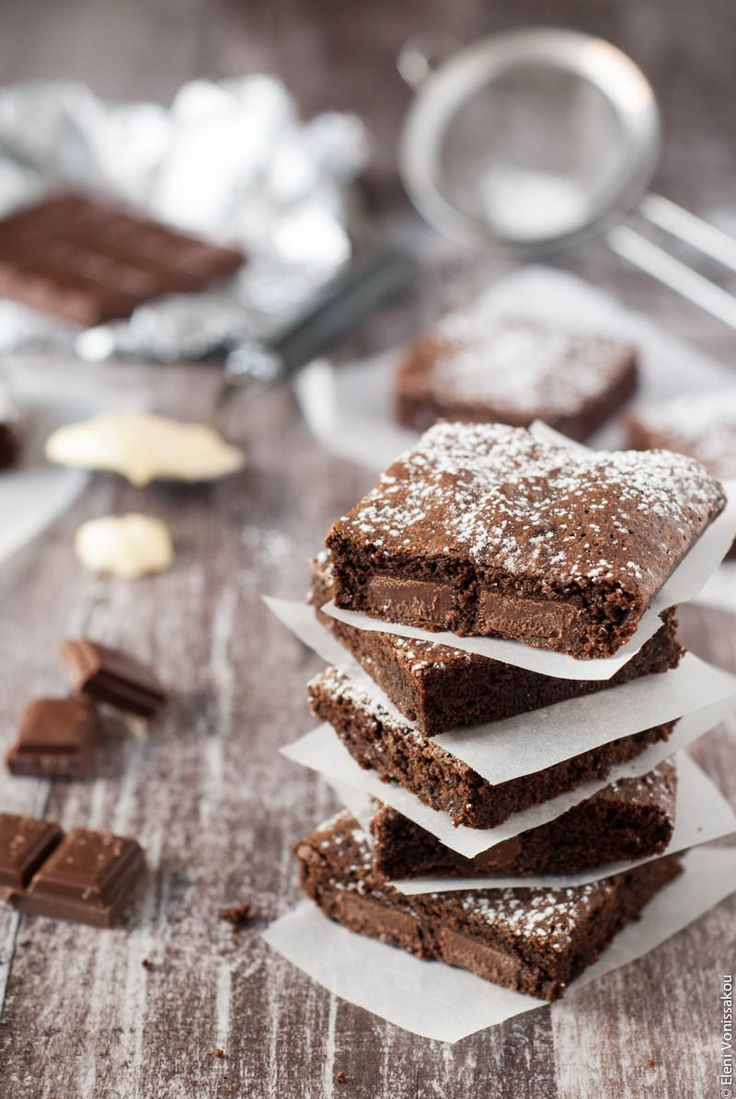 Mayo Brownies (in Greek) - Μπράουνις με Μαγιονέζα! Στο www.thefoodiecorner.gr
