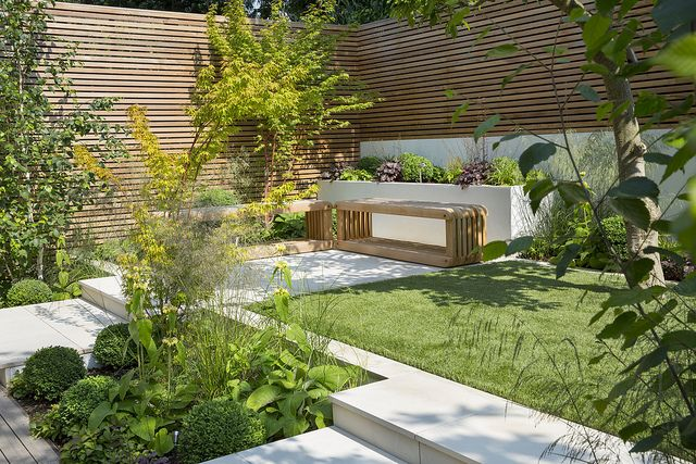 Modern, minimal, neutral colours with seasonal accents   Flickr - Photo Sharing!- Modular Garden