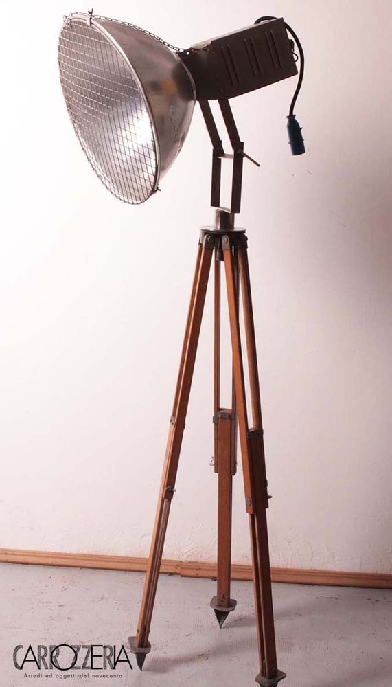 Oltre 1000 idee su Lampada Treppiede su Pinterest  Lampade D'epoca, Lampade e Vintage Industriale