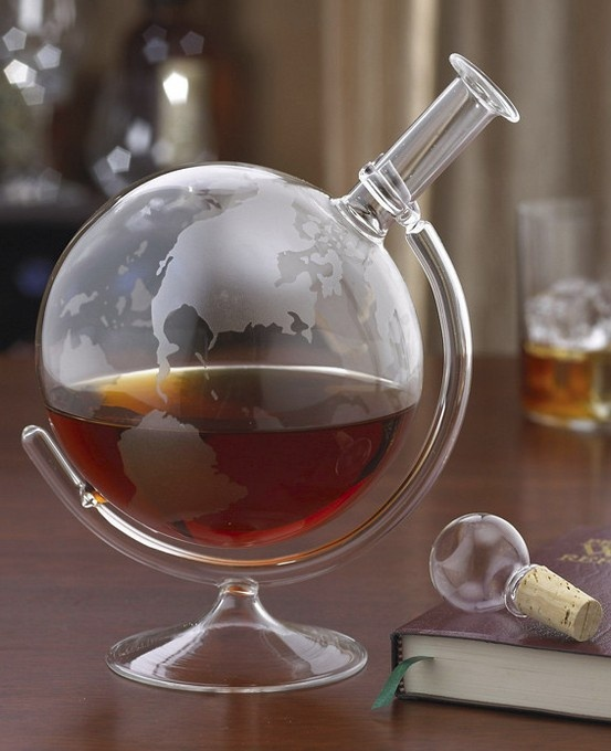 Globe Decanter...want one of these!!!