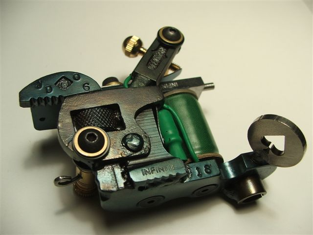 Infinite Irons: Custom Tattoo Machines, Tattoo Machine Parts, Service, Supplies
